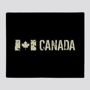 Canadian Flag: Canada Throw Blanket