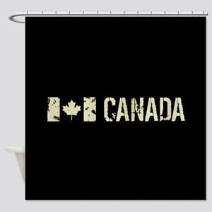 Canadian Flag: Canada Shower Curtain