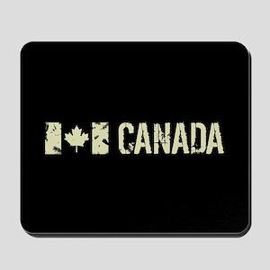 Canadian Flag: Canada Mousepad