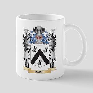 Rabit Coat of Arms - Family Crest Mugs