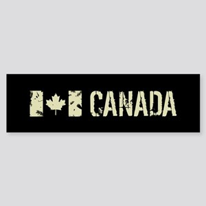 Canadian Flag: Canada Sticker (Bumper)