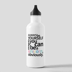 Pastel Unicorn Stainless Water Bottle 1.0L