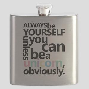 Pastel Unicorn Flask