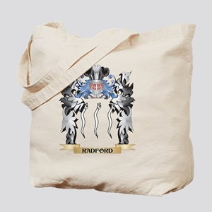 Radford Coat of Arms - Family Crest Tote Bag