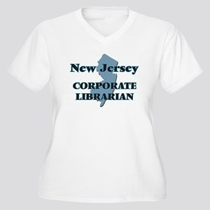 New Jersey Corporate Librarian Plus Size T-Shirt