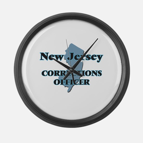 New Jersey Corrections Officer Large Wall Clock