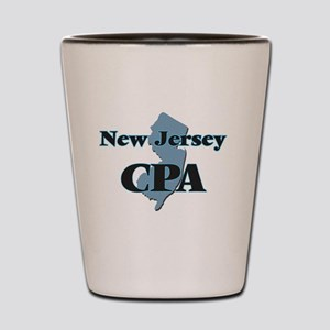 New Jersey Cpa Shot Glass