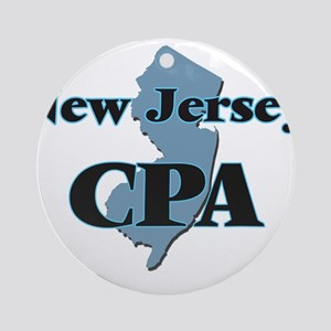 New Jersey Cpa Round Ornament
