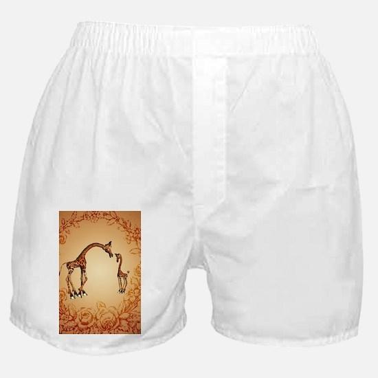 Cute giraffe Boxer Shorts