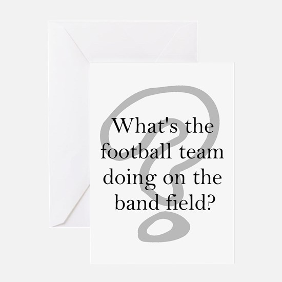 Funny Band Greeting Card