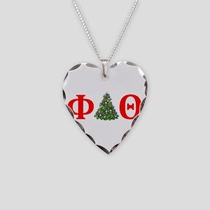Phi Delta Theta Christmas Necklace