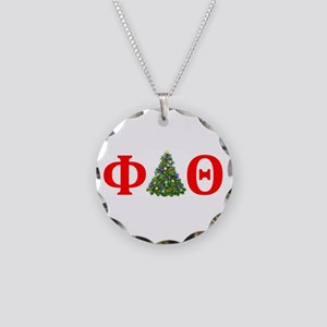 Phi Delta Theta Christmas Necklace