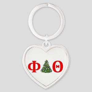 Phi Delta Theta Christmas Keychains
