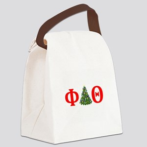 Phi Delta Theta Christmas Canvas Lunch Bag