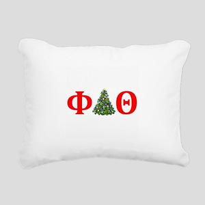 Phi Delta Theta Christmas Rectangular Canvas Pillo