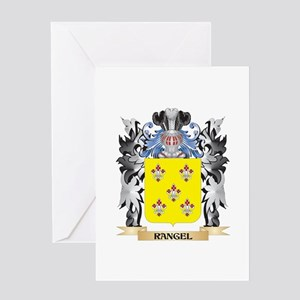 Rangel Coat of Arms - Family Crest Greeting Cards