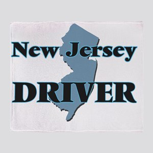 New Jersey Driver Throw Blanket