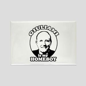 Giuliani is my homeboy Rectangle Magnet