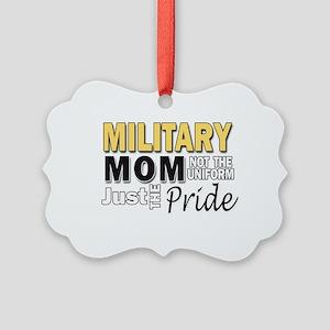 Military Mom Pride Picture Ornament