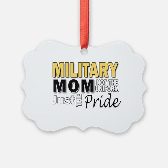 Military Mom Pride Ornament