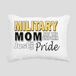 Military Mom Pride Rectangular Canvas Pillow