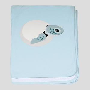Sea Turtle Hatchling baby blanket