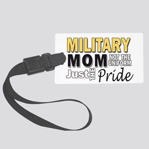 Military Mom Pride Large Luggage Tag