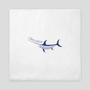 Swordfish Queen Duvet