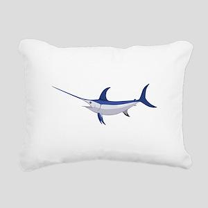Swordfish Rectangular Canvas Pillow