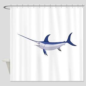 Swordfish Shower Curtain