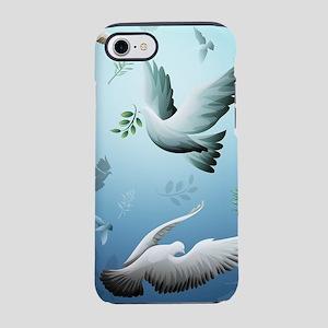Beautiful Doves iPhone 8/7 Tough Case