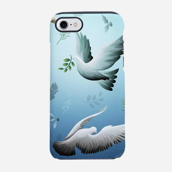 Beautiful Doves iPhone 8/7 Tough Case