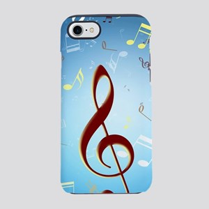 Musical Notes iPhone 8/7 Tough Case