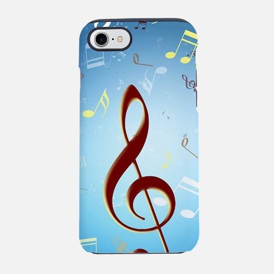 Musical Notes iPhone 8/7 Tough Case
