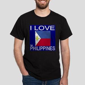 I Love The Philippines Dark T-Shirt