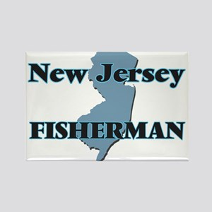 New Jersey Fisherman Magnets