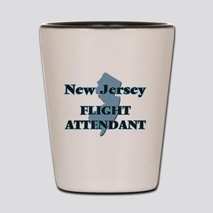 New Jersey Flight Attendant Shot Glass