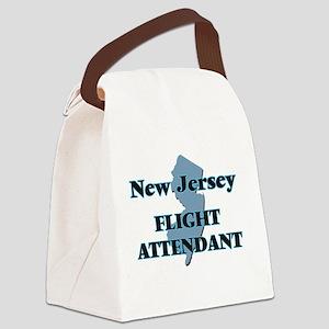 New Jersey Flight Attendant Canvas Lunch Bag