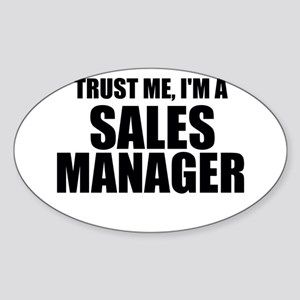 Trust Me, I'm A Sales Manager Sticker