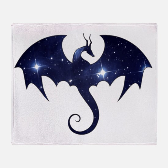 Dragon Star Throw Blanket