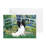 Bridge & Papillon Greeting Card