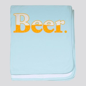 Beer. baby blanket