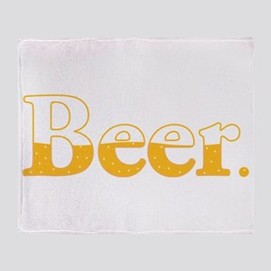 Beer. Throw Blanket