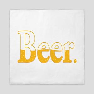 Beer. Queen Duvet