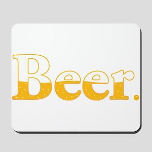 Beer. Mousepad