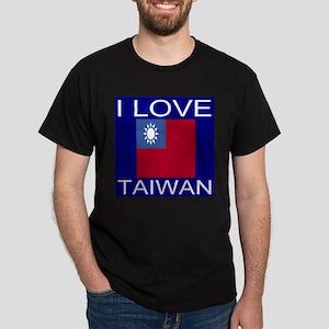 I Love Taiwan Dark T-Shirt