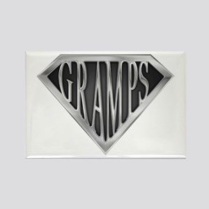 SuperGramps(metal) Rectangle Magnet