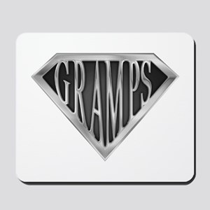 SuperGramps(metal) Mousepad