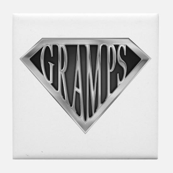 SuperGramps(metal) Tile Coaster