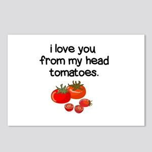 Love You from My Head to Postcards (Package of 8)